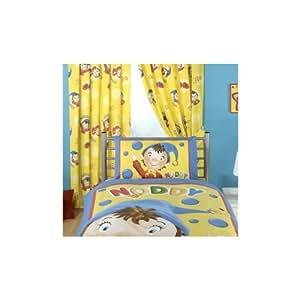 Ensemble de Rideaux Oui-Oui Noddy Friends pour enfants (170cm x 137cm) (Voir l'image)