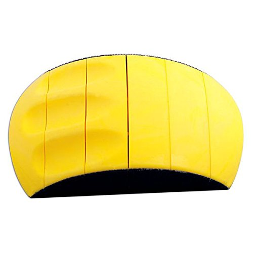 Preisvergleich Produktbild ysb-flex–Messerblock mit Schleifen Klettverschluss–flexibel–Gelb
