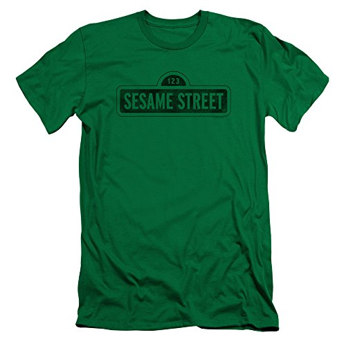 Sesame Street Herren T-Shirt Kelly Green