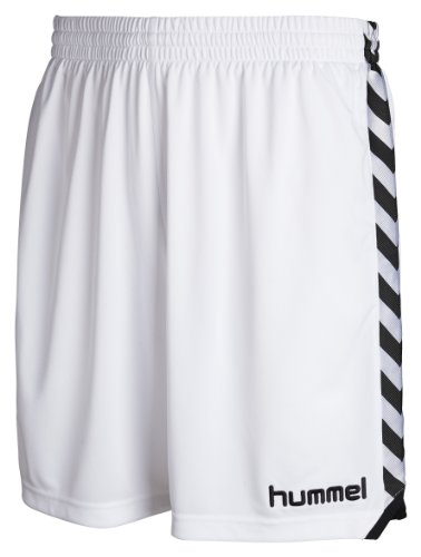 Hummel Herren Shorts Stay Authentic Poly, Weiß (white), Gr. XL (Hummel Gestickte)