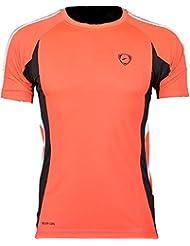 Jeansian Hombres Camiseta Deporte Delgado Tapas Men Quick-dry T-shirt Sport Slim Tops LSL147