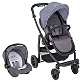 Graco Evo Travel System Including Footmuff & Raincover, Mineral