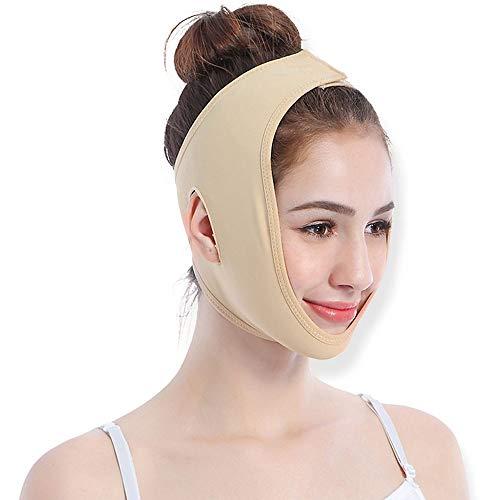 GYZ Facelifting Artefakt dünn Face Lifting Firming Lifting Firming Beauty Instrument zur Gesichtsbehandlung Massager V Gesichtsmaske Aufkleber - Hautfarbe Vier Größen Optional Visage Bandage Lifting -