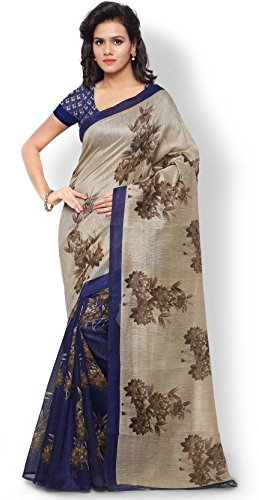 Kanchan Women Wedding Chennai Silk Printed Saree For Ladies & Girls (Prachi...