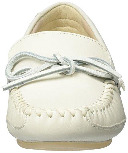 Clarks Natala Rio, Mocassini Donna Bianco (White Leather)