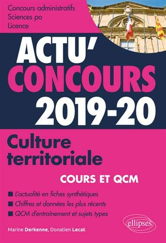 Culture territoriale 2019-2020 - Cours et QCM