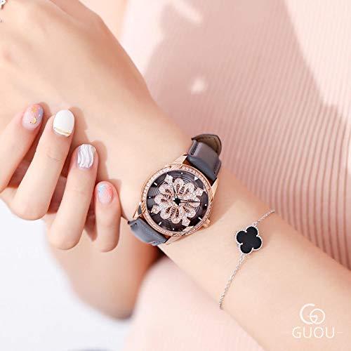 Quartz Watch New Diamond Watch Female Chic Vibrato with The Fashion Trend Waterproof Ins Female Watch Quartz Watch