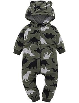 URSING warm Tarnung Säugling Baby Winter Mantel Jungen Mädchen Kapuzenpullover Drucken Dicker Kapuzenjacke Overall...