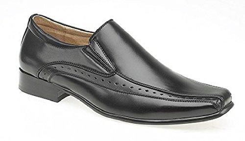Goor , Chaussures de ville à lacets pour homme Noir - noir