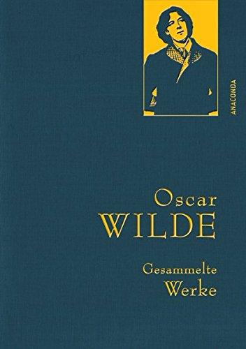 Buchcover Oscar Wilde - Gesammelte Werke (IRIS-Leinen) (Anaconda Gesammelte Werke)