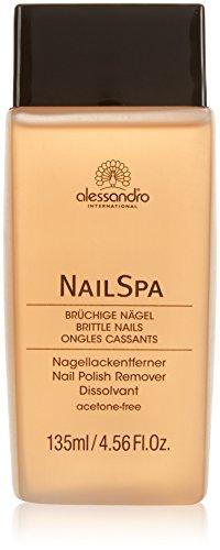 Alessandro nailspa Dissolvant Rose, 120 ml, 1er Pack (1 x 120 ml)