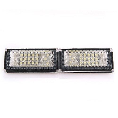 CARCHET®2x Kennzeichenbeleuchtung LED Kennzeichenleuchten für BMW Mini Cooper R50 R52
