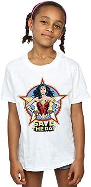 DC Comics Niñas Wonder Woman 84 Star Design Camiseta