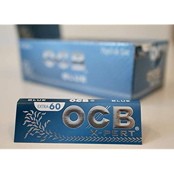 OCB X-pert Bleu Courte Double Lot De 75 Carnets De 100 Feuilles