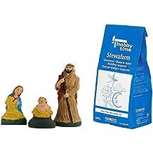 Látex Fundición para manualidades con forma de stewa barbotina 1kg Set de la Sagrada Familia