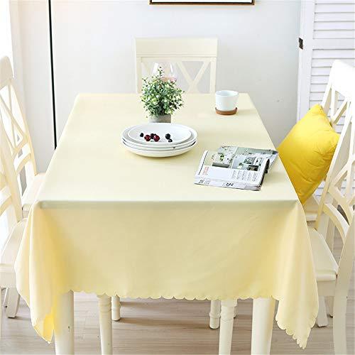 QWEASDZX Tischdecke Schlichte und Moderne Tischdecke aus Polyester (Uni) Staubdicht wasserdichte Hoteltischdecke Rechteckige Tischdecke Geeignet für Innen- und Außenbereiche 140 x 140 cm (Party-platten Bausteine)