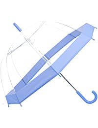 Paraguas Rainbrace-Transparente Burbuja, Apertura Automático, Cúpula Elegante con Borde ...