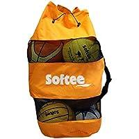 Softee Equipment 0004147 Saco Portabalones, Hombre, Blanco, S