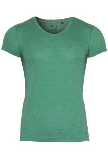 !Solid -  T-shirt - Basic - Collo a V  - Maniche corte  - Uomo Foli Green (8803) 54