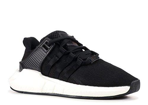 adidas Herren EQT Support 93/17 Sneaker Schwarz (Cblack/cblack/ftwwht)