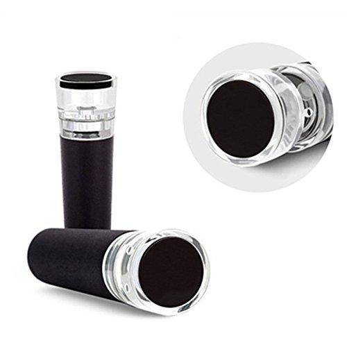 asche Stopper Champagner Vakuum versiegelten Wein Flasche Stopper Wein-Likör Preserver ^ Auffrischen. (Acryl Wein-gläser Bulk)