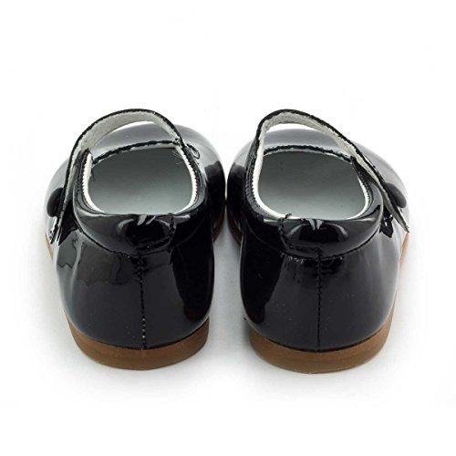 Boni Classic Shoes, Mädchen Schnürhalbschuhe Schwarz