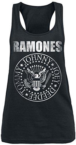 Ramones Seal Top donna nero XL