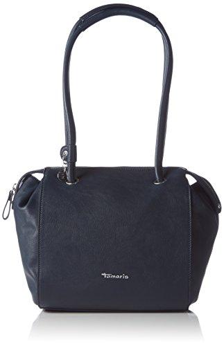 Tamaris DENISE 1155161-805 Damen Bowlingtaschen 24x25x10 cm (B x H x T), Blau (navy 805)