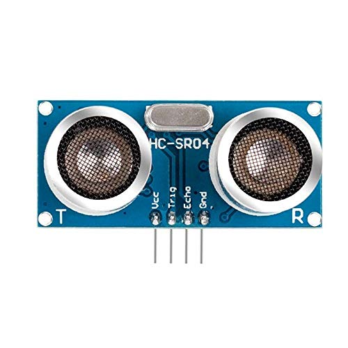 Preisvergleich Produktbild L-MEIQUN, HC-SR04 Ultraschallmodul Entfernungsmesser Sensor für Arduino(Color:BLAU)