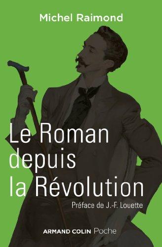 Le roman depuis la révolution