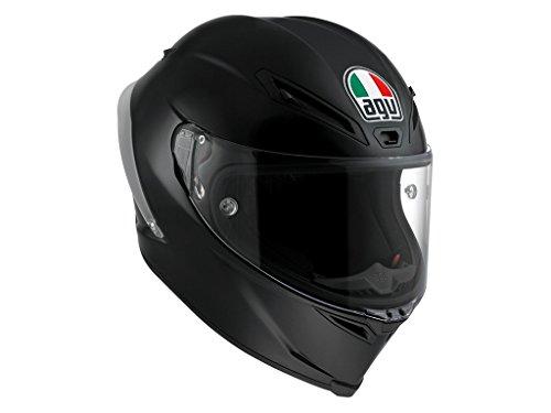 AGV Motorradhelm Corsa R E2205 Solid PLK, Matt Schwarz, Größe MS