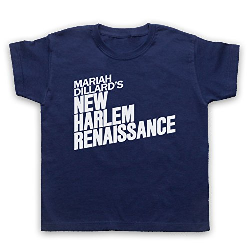 luke-cage-mariah-dillards-new-harlem-renaissance-camiseta-para-ninos-azul-marino-3-4-anos