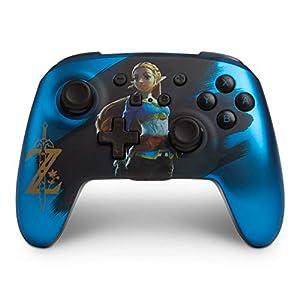 PowerA Kabelloser -Controller für Nintendo Switch – blau Zelda