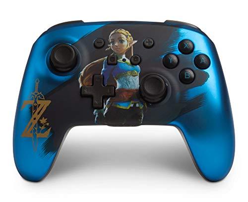 """Kabelloser PowerA-Controller für Nintendo Switch - blau Zelda """"Exklusiv"""" Bei Amazon ["""