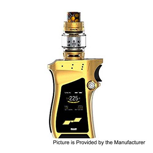 Preisvergleich Produktbild Authentisch SMOK Mag Kit Kein Nikotin 225W Mod mit 8ml TFV12 Prince Tank (Gold und Schwarz)