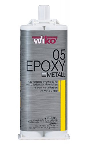 Wiko 2-K Epoxy Metallkleber 5, 50 ml Doppelkartusche EPOM.K50
