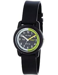 Cactus CAC-69-M01 - Reloj de pulsera niños, Plástico, color Negro