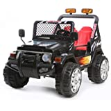 Rocket Drifter 2 Seater 4x4 12v Electric Ride on Jeep - Black