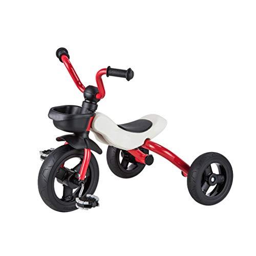Bébé .Le cadre en métal de tricycle pour enfants de .Department Store 46CM * 37CM * 32CM peut être plié pour porter une variété de couleurs pouvant être choisi par un scooter Walker pour enfants (co