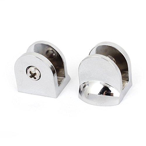uxcell 68mm dickem Glas Regal Clip Clamp Unterstützung Halterung, 2Stück - Glas-regal-hardware