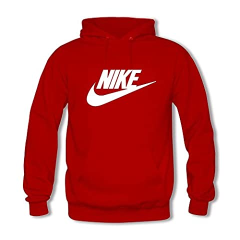 Classic Nike - Sweat-shirt à capuche - Homme - rouge - Medium