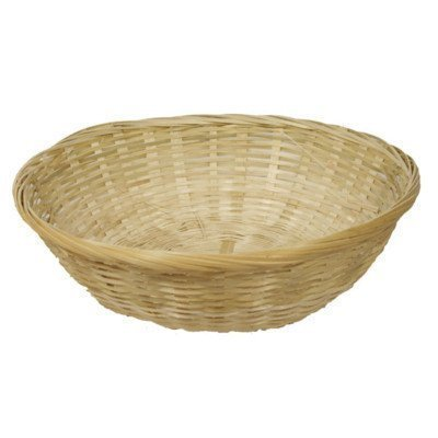 WHOLESALE JOBLOT 40 wicker round baskets 12