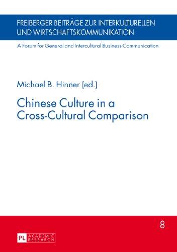 Chinese Culture in a Cross-Cultural Comparison Hardback Book New