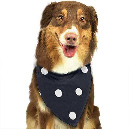 Weiß Schwarz Bandana Coole Neuheit Hund Katze Bandana Halstuch Mode-Accessoires ()