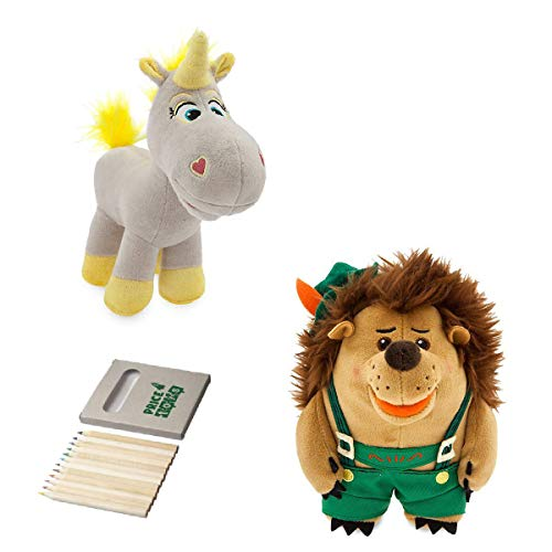 Price Toys Buzz Lightyear, Woody und Jessie Weiches Spielzeug-Puppe Set-Disney Toy Story Mini Bohne Sammlung (TS4 Buttercup/Pricklepants)