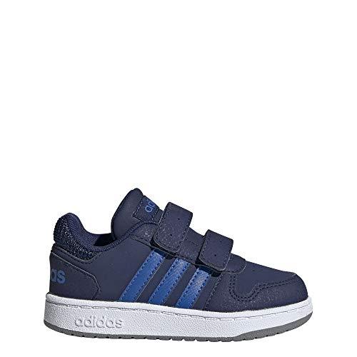 Adidas Hoops 2.0 CMF I, Zapatillas para Bebés, Multicolor Dark Blue/Blue/Grey Three F17 Ee9001, 24...