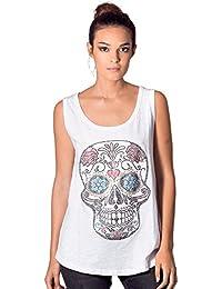 157de17fb KOALA BAY Camiseta Tirantes Crystal Skull Blanco