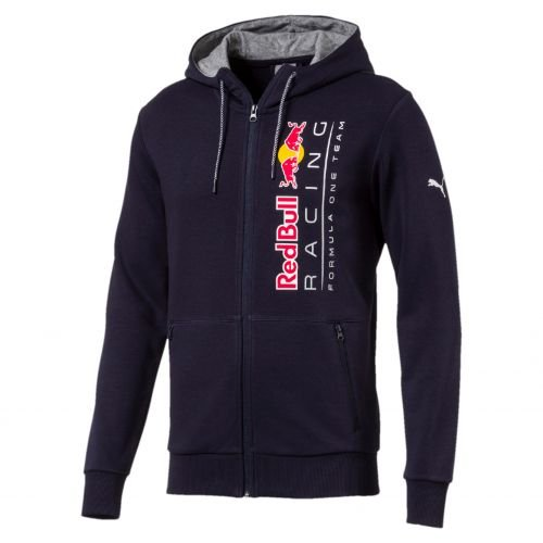 Sweatshirt à capuche zippé Puma Red Bull Racing