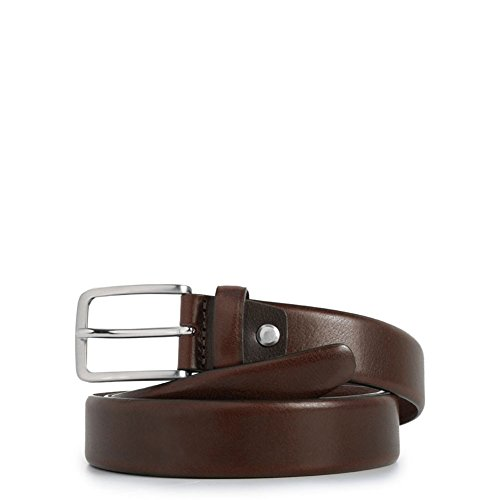Cintura uomo con fibbia ad ardiglione | Piquadro C56 | CU3902C56-Marrone