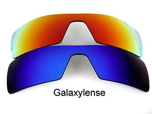 Galaxis Ersatzgläser für OAKLEY OIL RIG polarisierend verschiedene Farben verfügbar - Standard, regular